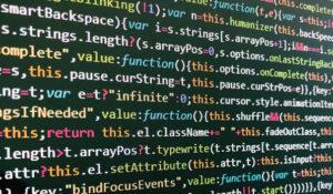 Quelltext Programmierung Software