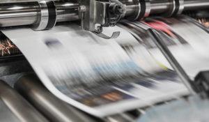 Briefpapier im Drucker